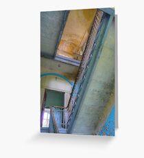 Lost Place ..., Beelitz Heilstaetten stairs Greeting Card