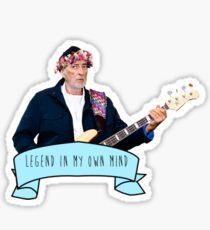 John McVie is a Legend In His Own Mind Sticker