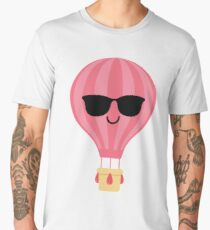 Hot air Balloon Emoji   Men's Premium T-Shirt