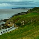 Looking towards Clevedon from Middle Hope, near Kewstoke by newbeltane