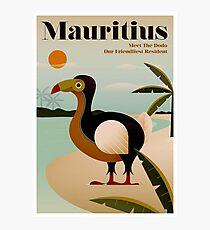 MAURITIUS; Vintage Travel and Tourism Print Photographic Print
