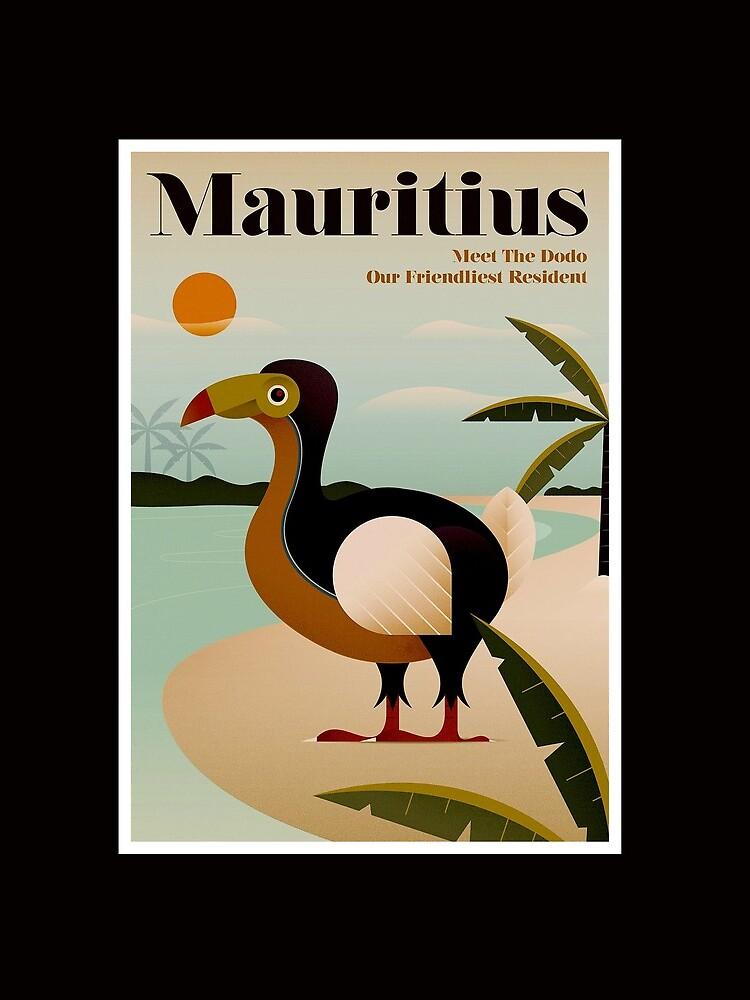 MAURICIO; Viaje de la vendimia y impresión del turismo de posterbobs