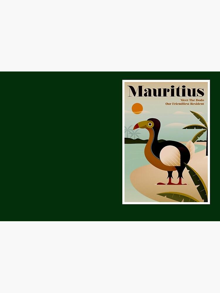 MAURITIUS; Vintage Reise- und Tourismusdruck von posterbobs
