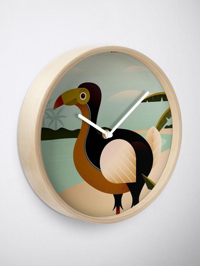 Vista alternativa de Reloj MAURICIO; Viaje de la vendimia y impresión del turismo