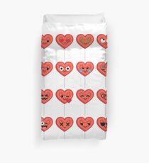 Lollipop Heart Emoji   Duvet Cover