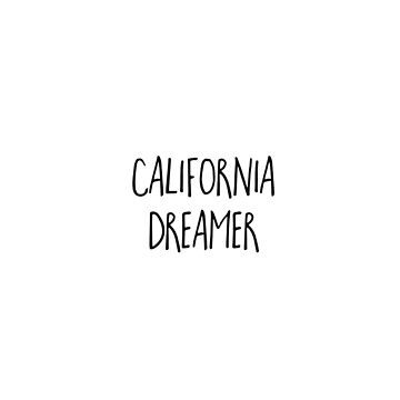 California Dreamer by emmanne03