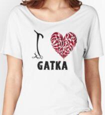 Gatka T Shirt Design I Love Gatka Women's Relaxed Fit T-Shirt