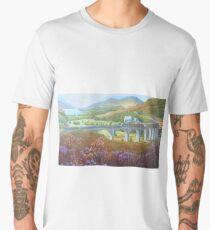 Glenfinnan Viaduct. Men's Premium T-Shirt