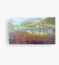 Glenfinnan Viaduct. Metal Print