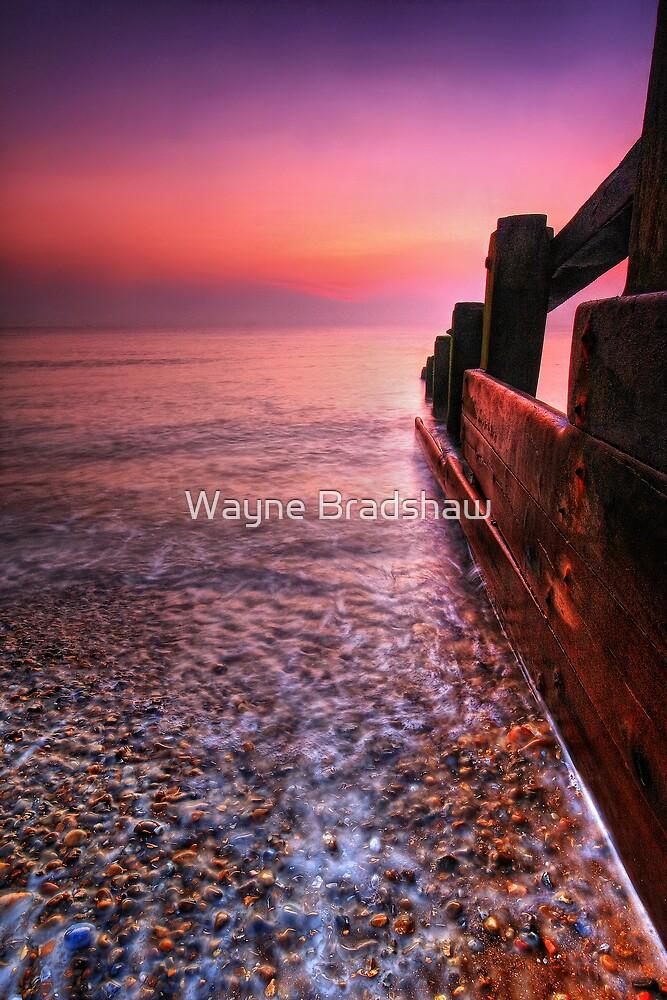 Aldeburgh Beach Suffolk 3. by Wayne Bradshaw