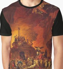 The Revolt of Hell vintage oil painting Graphic T-Shirt