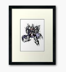 The Shredder Framed Print