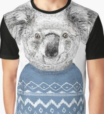 Winter koala Graphic T-Shirt