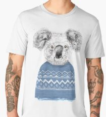 Winter koala Men's Premium T-Shirt