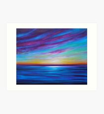 Clouds and Dreams  Art Print