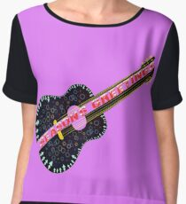Seasons music greetings Women's Chiffon Top