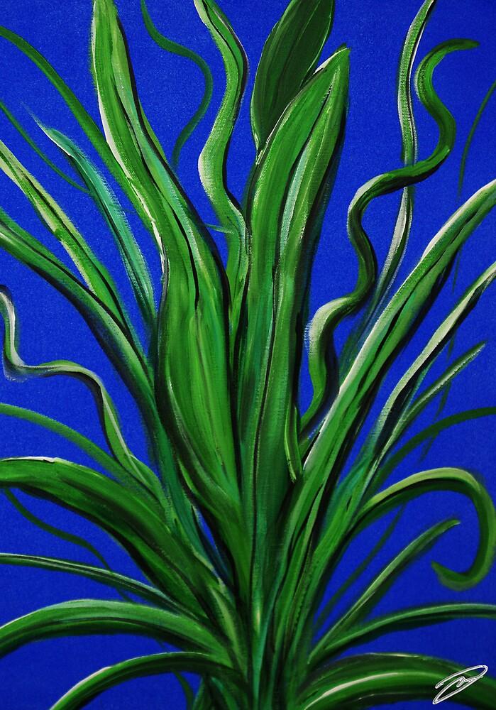 Tropical Plant by David W Kirk