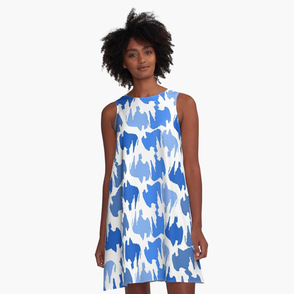 Buffalo Blues A-Line Dress