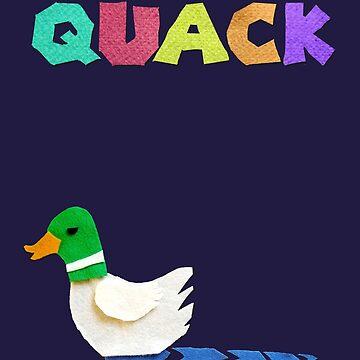 Felt Duck, Wot Luck! by mmarier