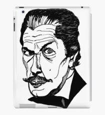 the vincent price is right iPad Case/Skin
