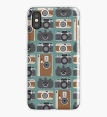 Analogue cameras iPhone Case/Skin