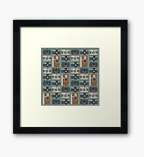 Analogue cameras Framed Print