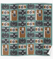 Analogue cameras Poster