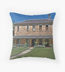 Colonial Style  - Gladesville Asylum  (Hospital) - The HDR Series Throw Pillow