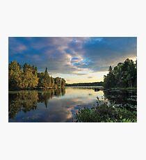 Lake Abanakee Photographic Print