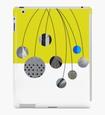 Cascading Orbits (Yellow) iPad Case/Skin
