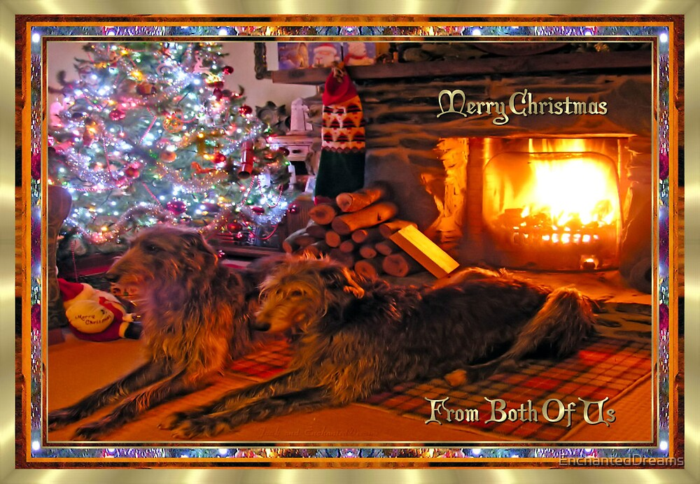 Merry Christmas From Both Of Us (Collaboration with Joak) by EnchantedDreams