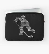 Hockey Vocabulary Laptop Sleeve