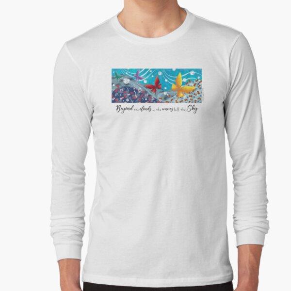 Beyon the Clouds - Waves Long Sleeve T-Shirt