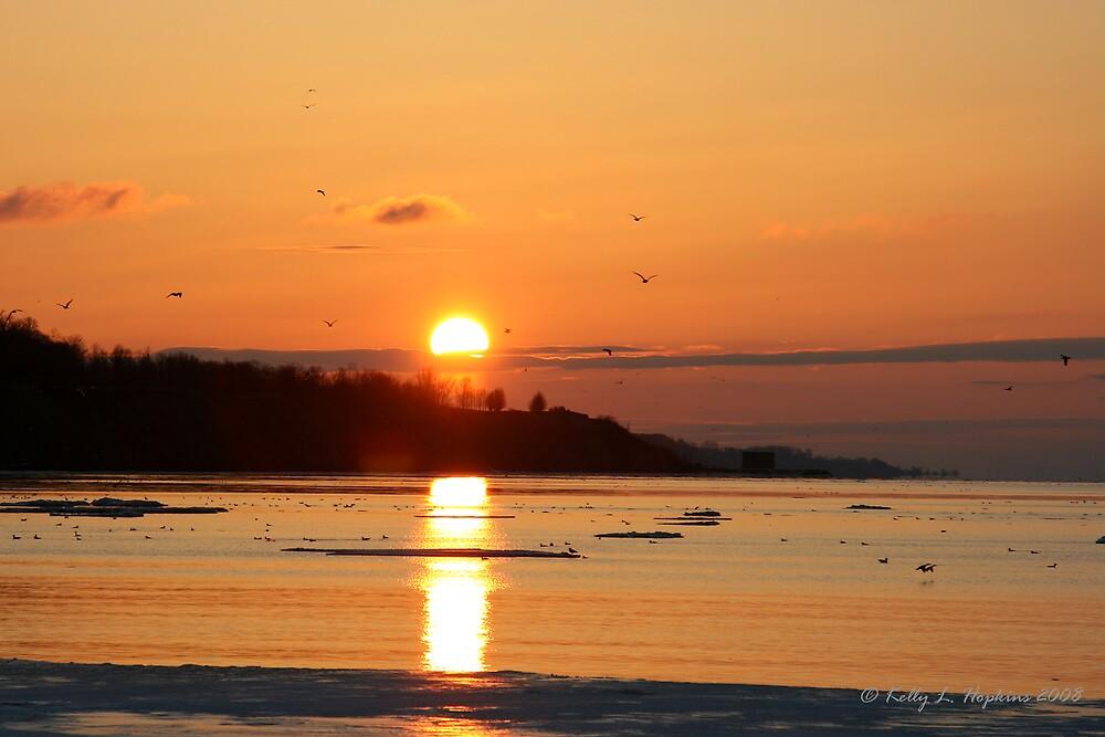 Sunrise by Kelly Hopkins