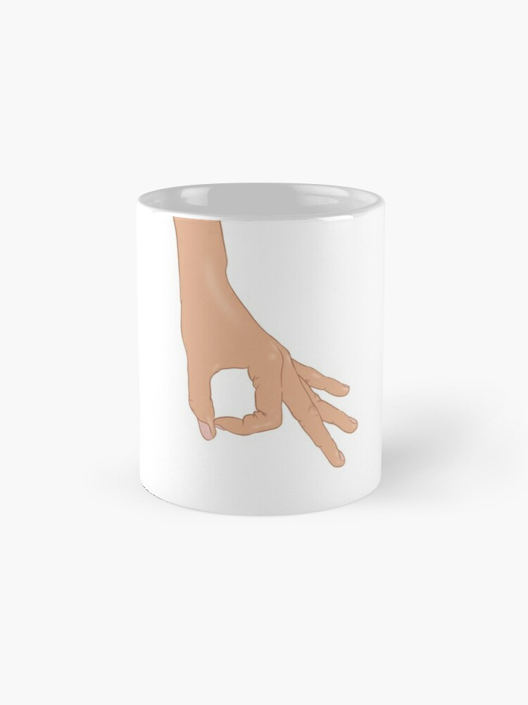 Alternate view of The Circle Finger Game Mug