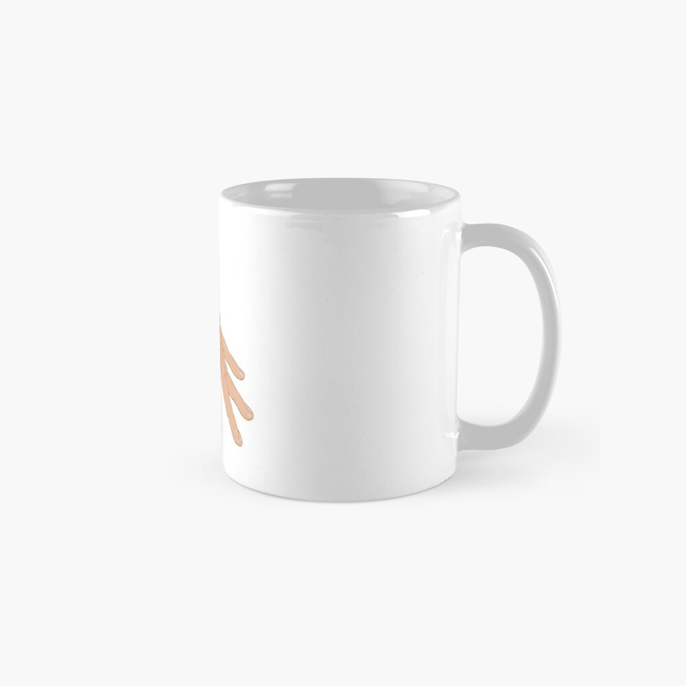 The Circle Finger Game Mug