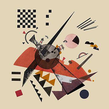 Orange (Kandinsky) by RetroPops