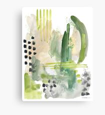 Moss Green Canvas Print