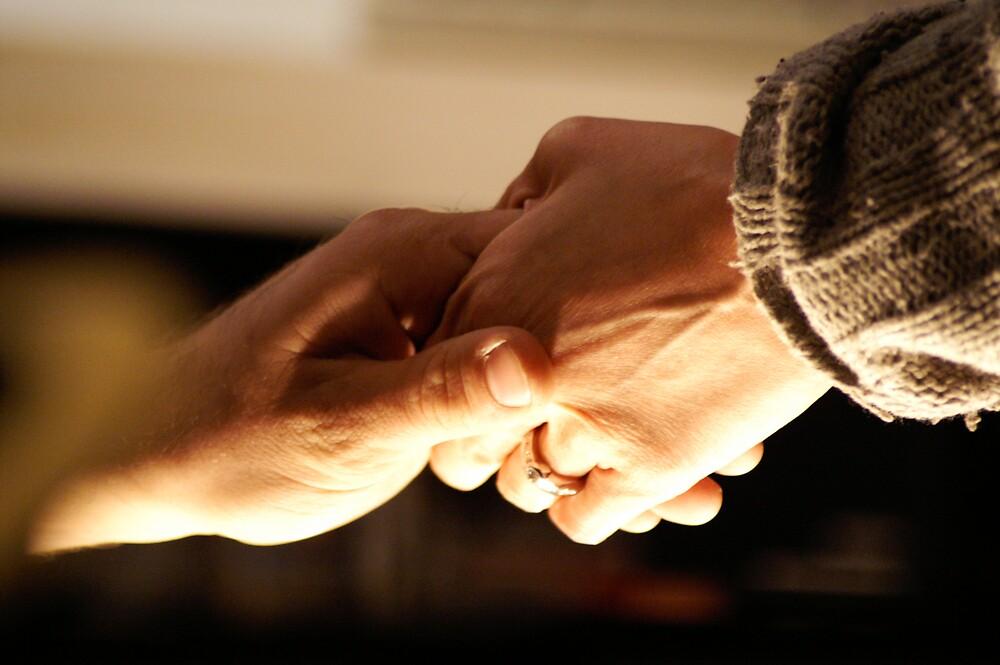 hands together by David Pond