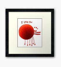 Lovebug Framed Print