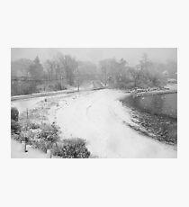 Let it snow, let it snow, let it snow ! Photographic Print