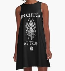 In Chuck, We Trust A-Line Dress