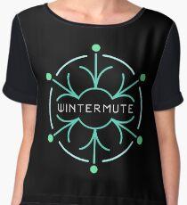 Wintermute Chiffon Top