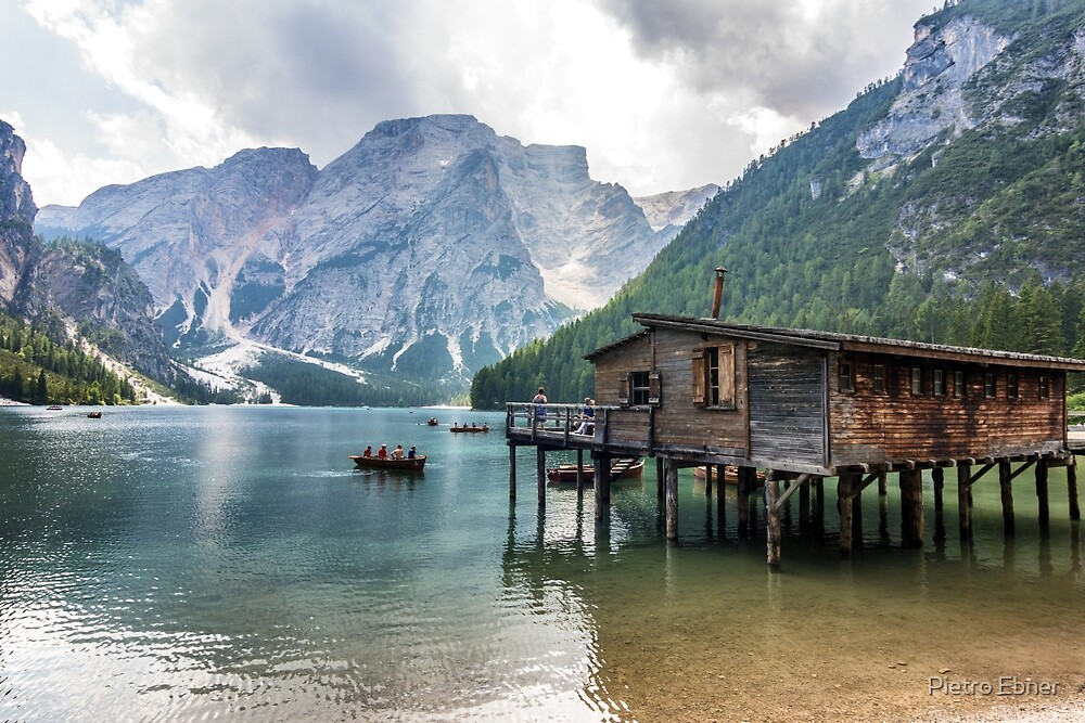 Lake of Braies by pietrofoto