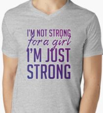Strong for a Girl T-Shirt