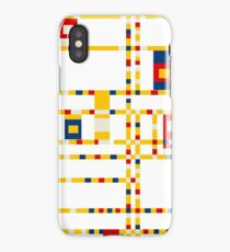 Broadway (Mondrian) iPhone Case/Skin