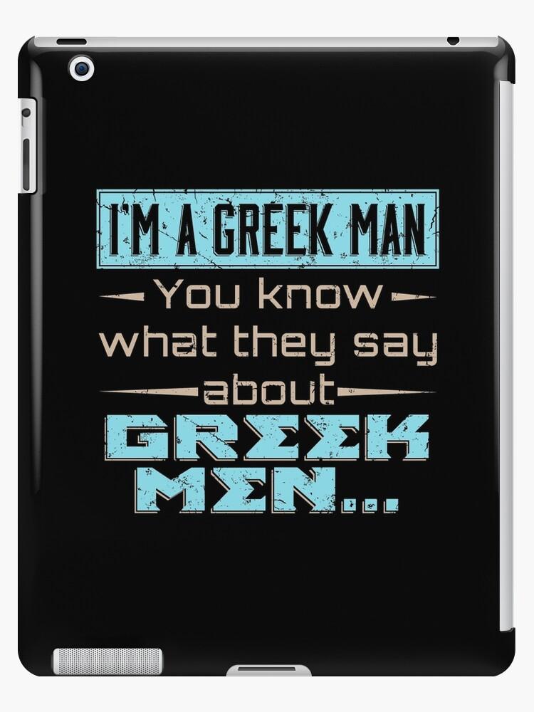 Vinilo O Funda Para Ipad Regalos Con Frases Sobre Hombres Griegos No Sé Regalo De Estilo Griego Para Y Con Hombres Regalos Inspirados Y