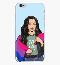 Vinilo o funda para iPhone Lauren Jauregui (bandera bisexual)