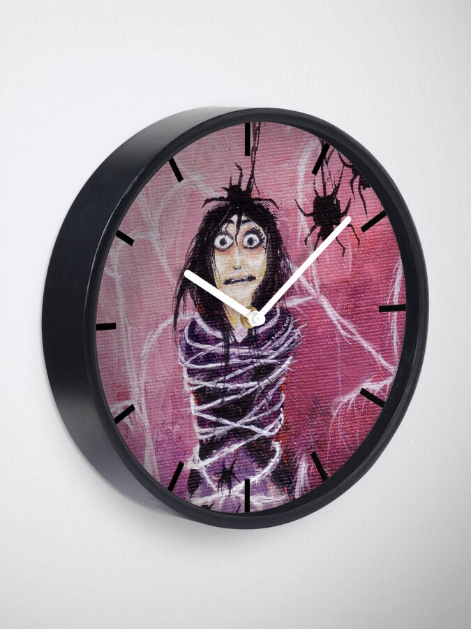 Alternate view of THE FEAR TAKES HOLD Clock