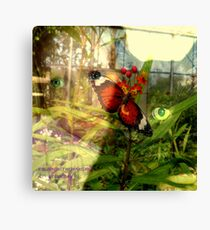 EYE CONTACT WITH NATURE Canvas Print